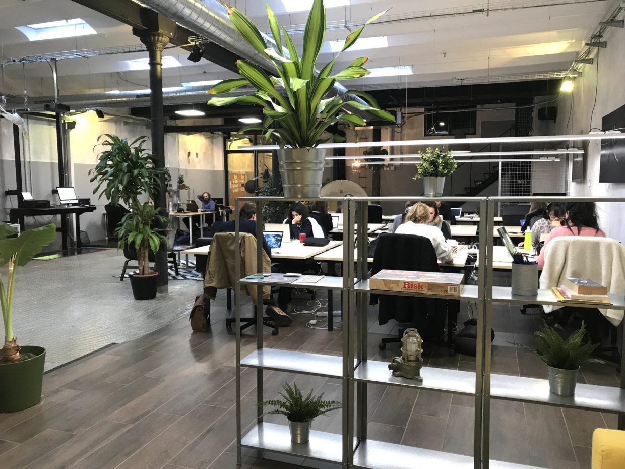 Main Area of our Coworking in Barcelona
