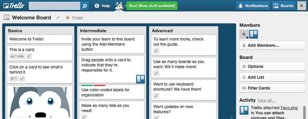 use trello for improve you productivity while travel and work